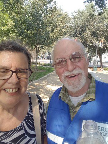 An image of Paula and David