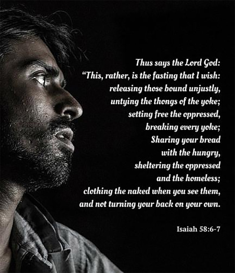 an image from the play Isaiah Says
